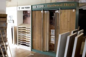 Ted Todd wood flooring from Southport Carpet Centre