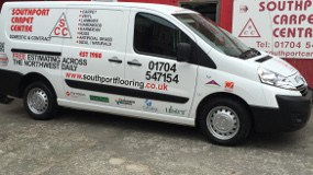 Service & expertise at Southport Carpet Centre - Nationwide.