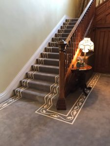 Bespoke carpeting from Southport Carpet Centre, installed in West Lancs