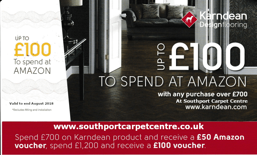 Karndean Flooring : Amazon promotion from Southport Carpet Centre